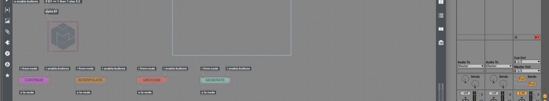 Ableton Live & MAX8 でMagentaを使用