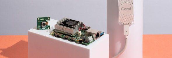 """スマートスピーカーやシンセなどAIコンパクト音楽ハードウェアを自分で作れる?Googleが""""ローカルAI""""でIoT端末を構築するためのプラットフォーム「Coral」(β)を発表"""