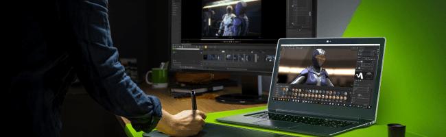NVIDIAがクリエーター向けのプラットフォーム「NVIDIA Studio」を公開 モバイルディープラーニング環境の有力選択肢となるか?