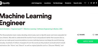 Spotifyのレコメンデーションエンジンの機械学習アルゴリズムについて解説します