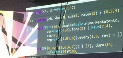 Pythonのライブコーディング環境Fox Dotが0.8へバージョンアップ オーディオサンプルのストレッチが可能に