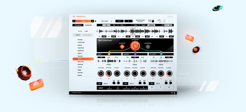 AIがドラムトラックをリアルタイムにRemixする新しいプラグイン | Rhythmic