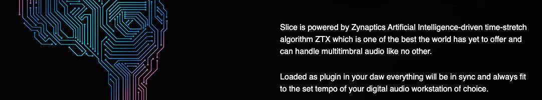 オーディオのタイムストレッチにAIアルゴリズムを使用したLOOP SLICERが新登場
